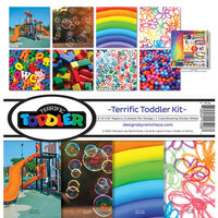 Reminisce - Terrific Toddler Collection - 12 x 12 Collection Kit