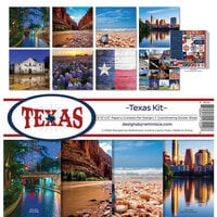 Reminisce - Texas Collection - 12 x 12 Collection Kit