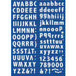 Reminisce - The Freedom Collection - Alphabet Cardstock Stickers
