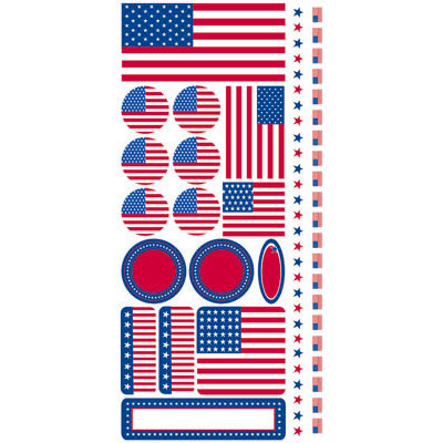 Reminisce - The Freedom Collection - Cardstock Stickers - Icons