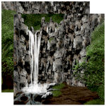 Reminisce - The Great Outdoors Collection - 12 x 12 Double Sided Paper - Hidden Oasis