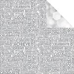Reminisce - The Graduate Collection - 12 x 12 Double Sided Paper - Graduation Word