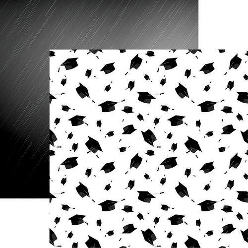 Reminisce - The Graduate Collection - 12 x 12 Double Sided Paper - Graduation Cap