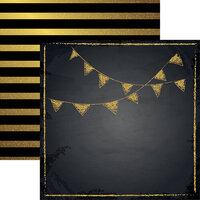 Reminisce - The Graduate Collection - 12 x 12 Double Sided Paper - Congrats Grad