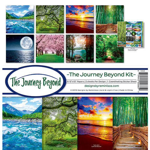 Reminisce - The Journey Beyond Collection - 12 x 12 Collection Kit