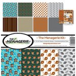 Reminisce - The Menagerie Collection - 12 x 12 Collection Kit - Two