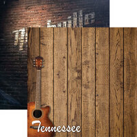 Reminisce - 12 x 12 Double Sided Paper - Nashville