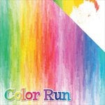 Reminisce - The Running Collection - 12 x 12 Double Sided Paper - Color Run