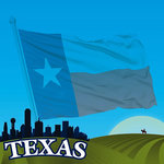 Reminisce - The State Line Collection - 12 x 12 Paper - Texas