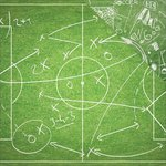 Reminisce - The Soccer Collection - 12 x 12 Double Sided Paper - Soccer Playbook