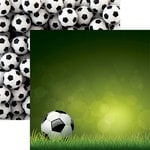 Reminisce - Soccer 2 Collection - 12 x 12 Double Sided Paper - Soccer Ball