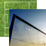 Reminisce - Soccer 2 Collection - 12 x 12 Double Sided Paper - Net