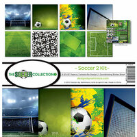 Reminisce - Soccer 2 Collection - 12 x 12 Collection Kit
