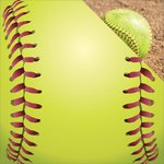 Reminisce - The Softball Collection - 12 x 12 Double Sided Paper - Let's Play Softball