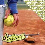 Reminisce - The Softball Collection - 12 x 12 Double Sided Paper - Softball