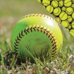 Reminisce - The Softball Collection - 12 x 12 Double Sided Paper - Play Softball
