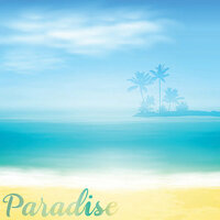 Reminisce - 12 x 12 Paper - Tropical Paradise 2