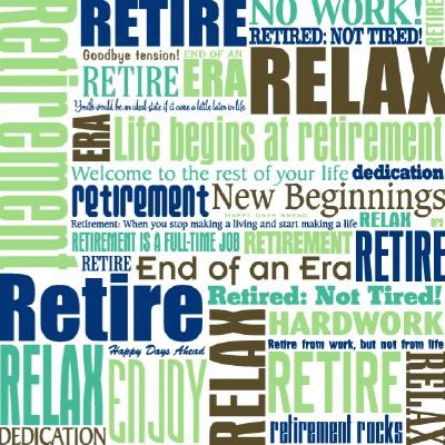 Reminisce - Time To Relax Retirement Collection - Patterned Paper - Retirement Rocks