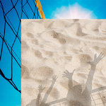 Reminisce - The Volleyball Collection - 12 x 12 Double Sided Paper - Beach Volleyball