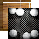 Reminisce - Volleyball 2 Collection - 12 x 12 Double Sided Paper - Six Pack