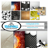 Reminisce - Volleyball 2 Collection - 12 x 12 Collection Kit