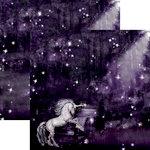 Reminisce - Unicorn Magic Collection - 12 x 12 Double Sided Paper - Unicorn Magic