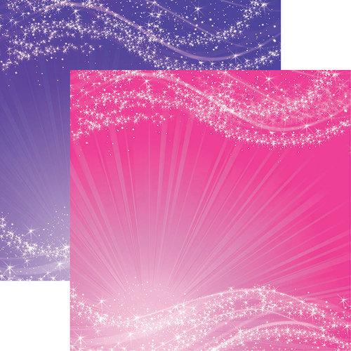 Reminisce - Unicorn Magic Collection - 12 x 12 Double Sided Paper - Unicorn Glow