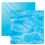 Reminisce - Under The Sea Collection - Seaworld - 12 x 12 Double Sided Paper - Poolside