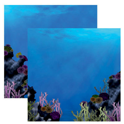 Reminisce - Under The Sea Collection - Seaworld - 12 x 12 Double Sided Paper - Coral Reef