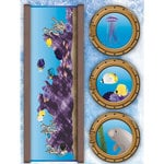 Reminisce - Under The Sea Collection - Seaworld - 3 Dimensional Stickers - Fish Tank