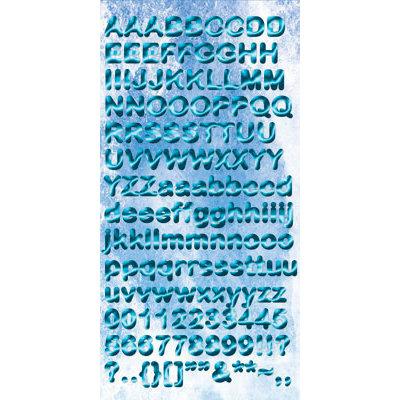 Reminisce - Under The Sea Collection - Seaworld - Chipboard Stickers - Alphabet