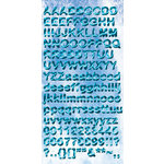 Reminisce - Under The Sea Collection - Seaworld - Chipboard Stickers - Alphabet