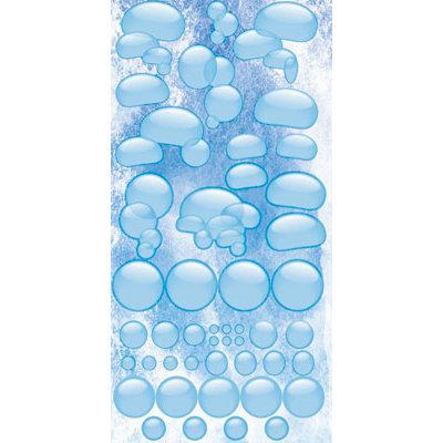 Reminisce - Under The Sea Collection - Seaworld - Chipboard Glitter Stickers - Bubbles