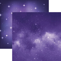Reminisce - Ultraviolet Collection - 12 x 12 Double Sided Paper - Limitless