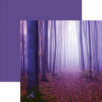 Reminisce - Ultraviolet Collection - 12 x 12 Double Sided Paper - What Lies Ahead