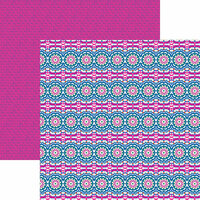 Reminisce - VB Inspired Collection - 12 x 12 Double Sided Paper - Bohemian Love