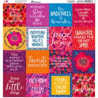 Reminisce - VB Inspired Collection - 12 x 12 Cardstock Square Stickers