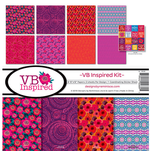 Reminisce - VB Inspired Collection - 12 x 12 Collection Kit