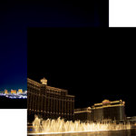 Reminisce - Vegas Collection - 12 x 12 Double Sided Paper - Water Show