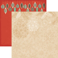 Reminisce - Vintage Christmas Collection - 12 x 12 Double Sided Paper - Vintage Christmas