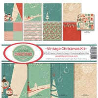 Reminisce - Vintage Christmas Collection - 12 x 12 Collection Kit