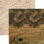 Reminisce - Vintage Lace Collection - 12 x 12 Double Sided Paper - Vintage Lace