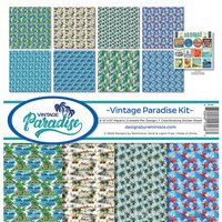 Reminisce - Vintage Paradise Collection - 12 x 12 Collection Kit