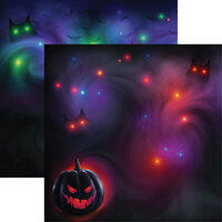 Ella and Viv Paper Company - Very Strange Things Collection - 12 x 12 Double Sided Paper - Dark Magic