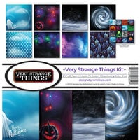 Ella and Viv Paper Company - Very Strange Things Collection - 12 x 12 Collection Kit