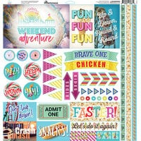 Reminisce - Weekend Adventure Collection - 12 x 12 Elements Sticker