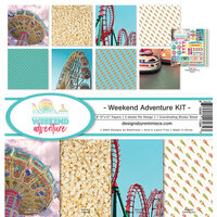 Reminisce - Weekend Adventure Collection - 12 x 12 Collection Kit