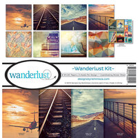 Reminisce - Wanderlust Collection - 12 x 12 Collection Kit