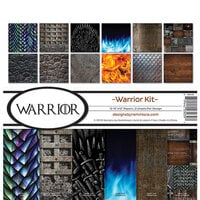 Reminisce - Warrior Collection - 12 x 12 Paper Pack