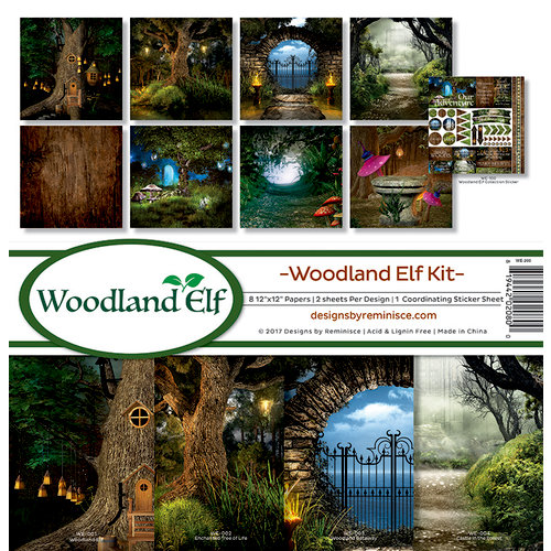 Reminisce - Woodland Elf Collection - 12 x 12 Collection Kit